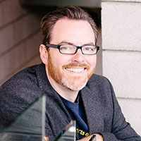"""""""Science Mike,"""" Mike McHargue is a Christian-turned-atheist-turned-follower of Jesus."""